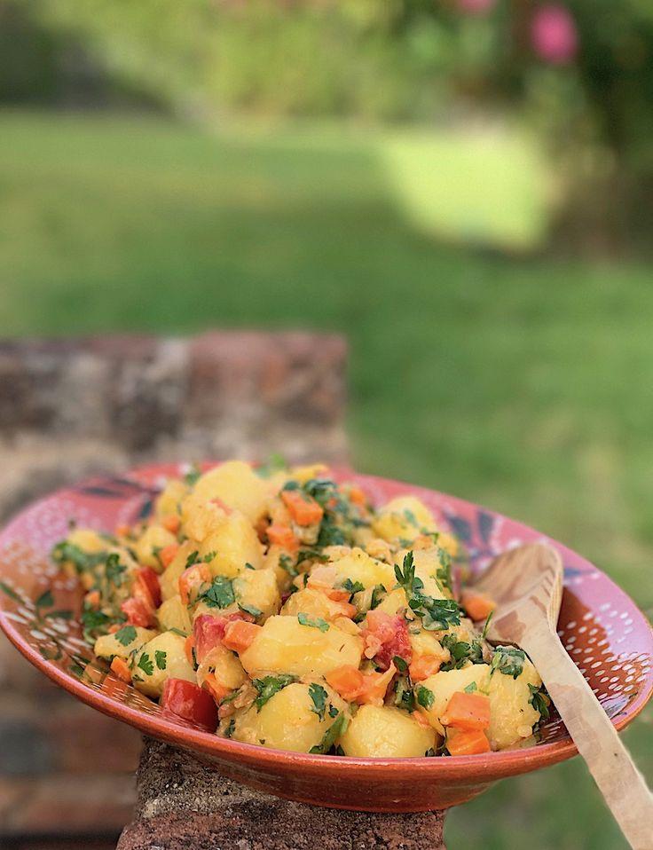 kitchen boss eggplant caponata%0A Deze aardappelsalade heb je binnen    minuten gemaakt en is heerlijk om zo  te eten of