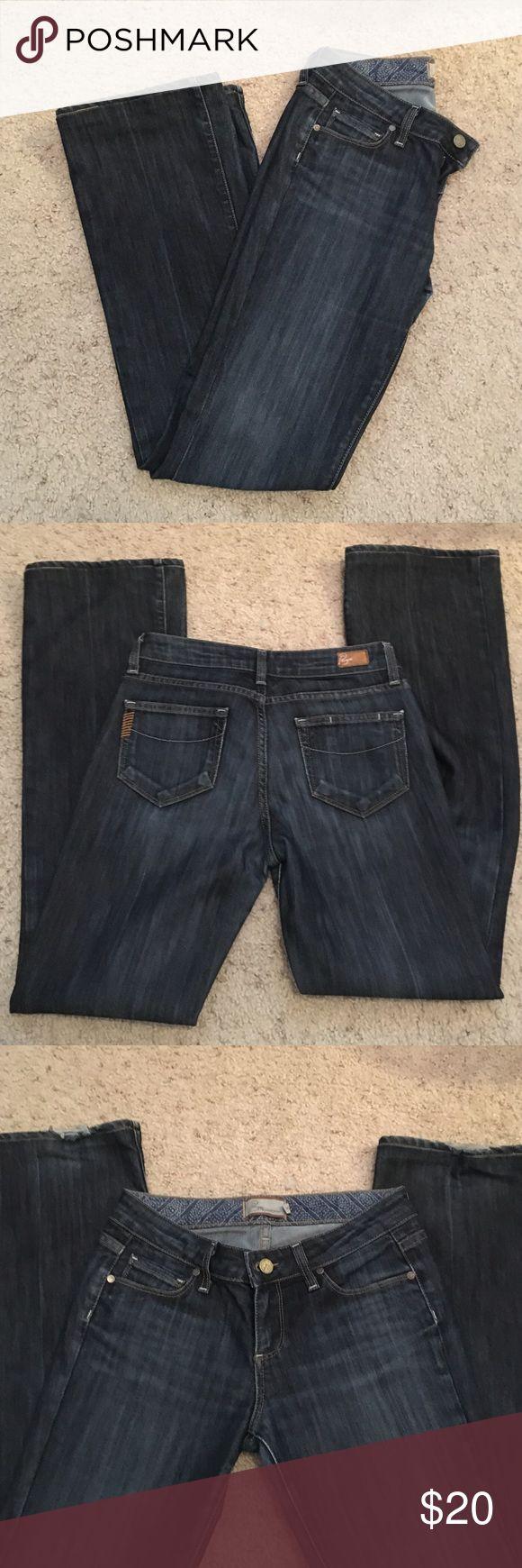Paige jeans size 26 boot cut Paige jeans. Boot cut. Size 26. Little wear at the cuffs Paige Jeans Jeans Boot Cut