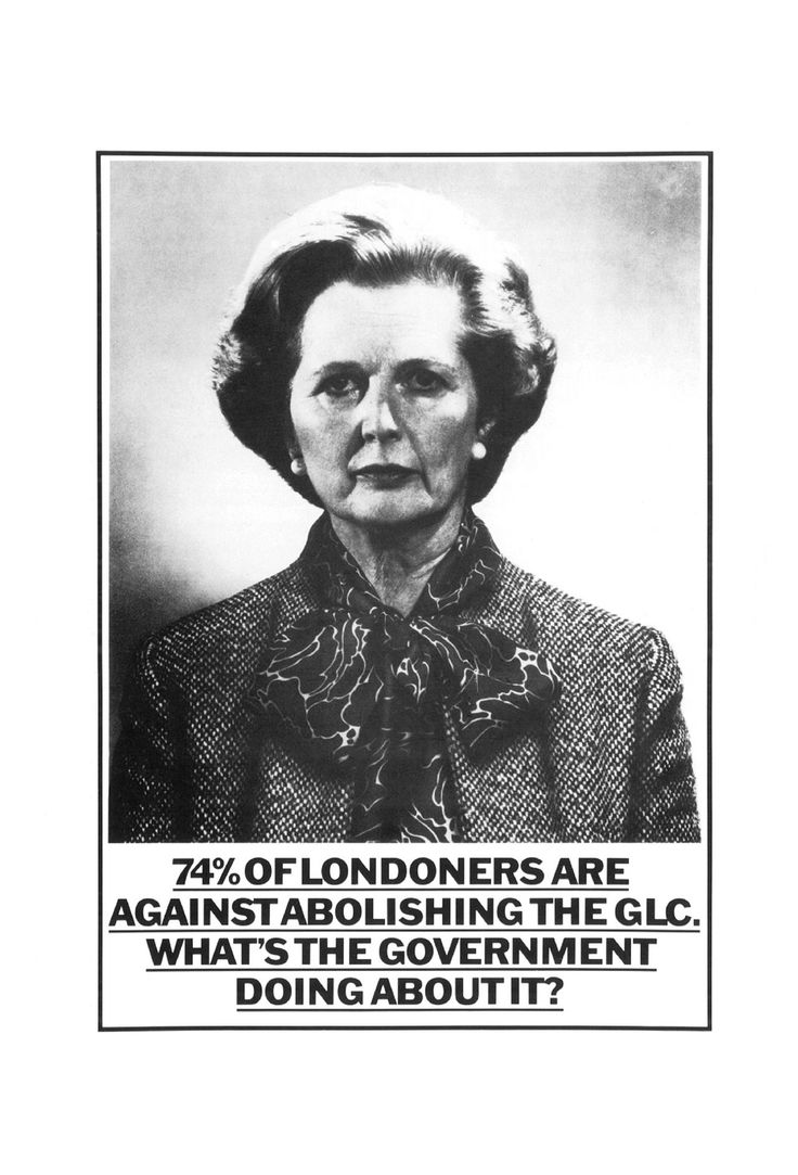 Read more: https://www.luerzersarchive.com/en/magazine/print-detail/greater-london-council-53544.html Greater London Council The Greater London Council (GLC) was a centralized local government administrative body for Greater London from 1965 until its abolition in 1986. The campaign won a Black Pencil in 1985. Tags: John Pallant,David Wakefield,Boase Massimi Pollitt, London,Wormser, Jimmy,Peter Gatley,Greater London Council