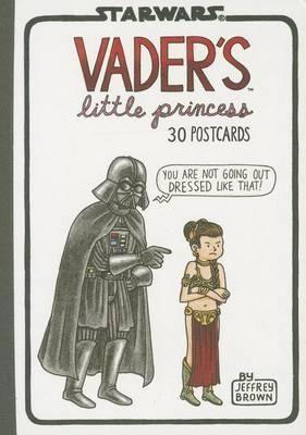 Vader's Little Princess 30 Postcards : Darth Vader and Son - Jeffrey Brown