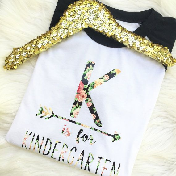 Ladies Women Teacher K is for Kindergarten or P by ohsweetsprouts                                                                                                                                                                                 More