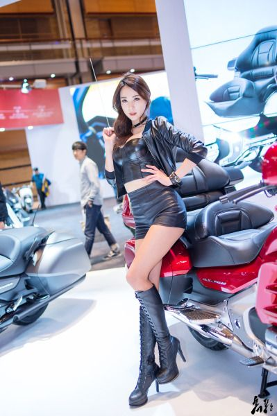 Korean Models {Semi-Hiatus} Ju Da Ha @ 2016 Seoul Motorcycle Show [March 31-April 3, 2016]