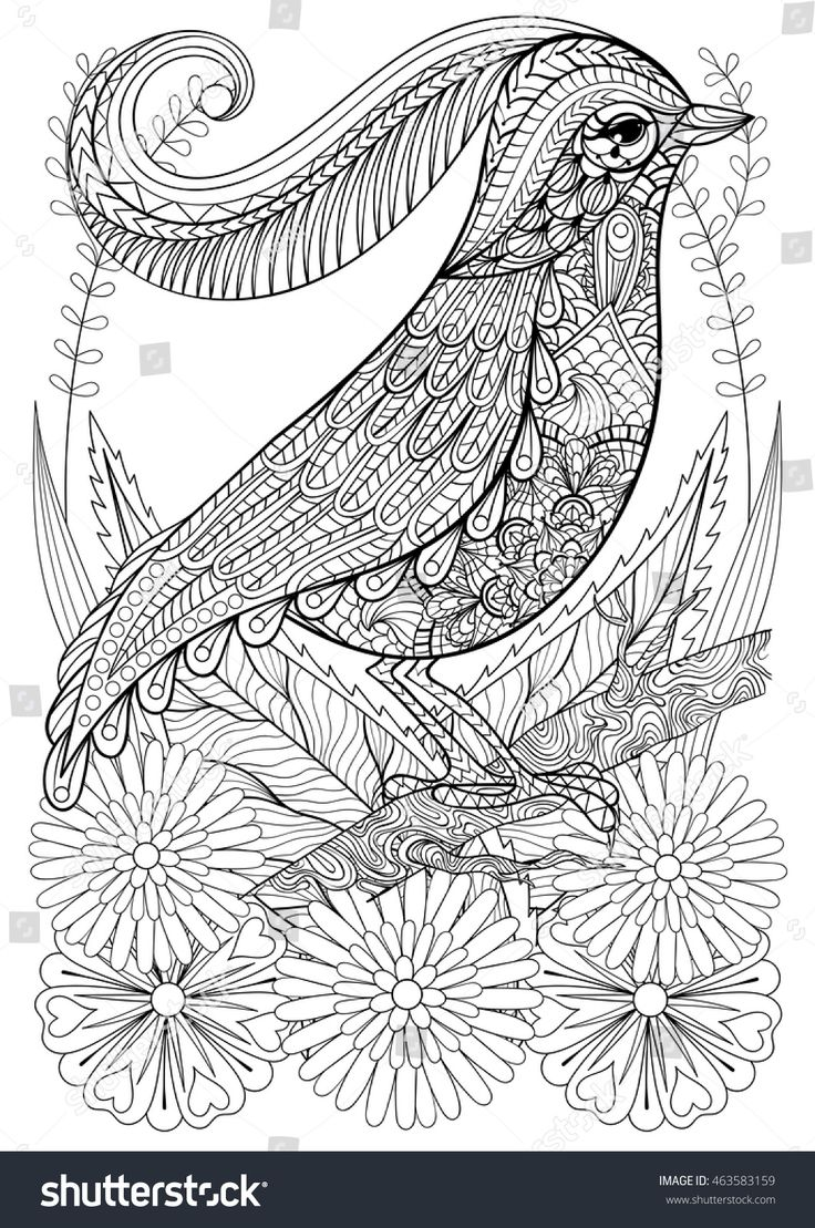 1376 best coloring pages and zentangled art for grown ups