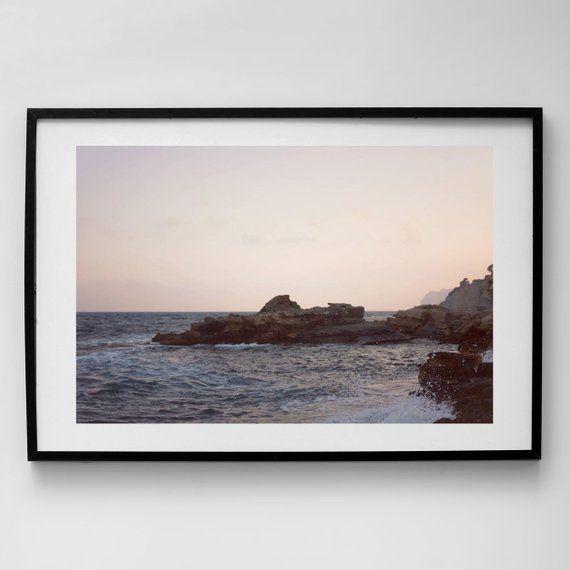 Mediterranean Sunset Frame Print Photography Print Framed Etsy Photography Prints Art Sunset Wall Art Framing Photography