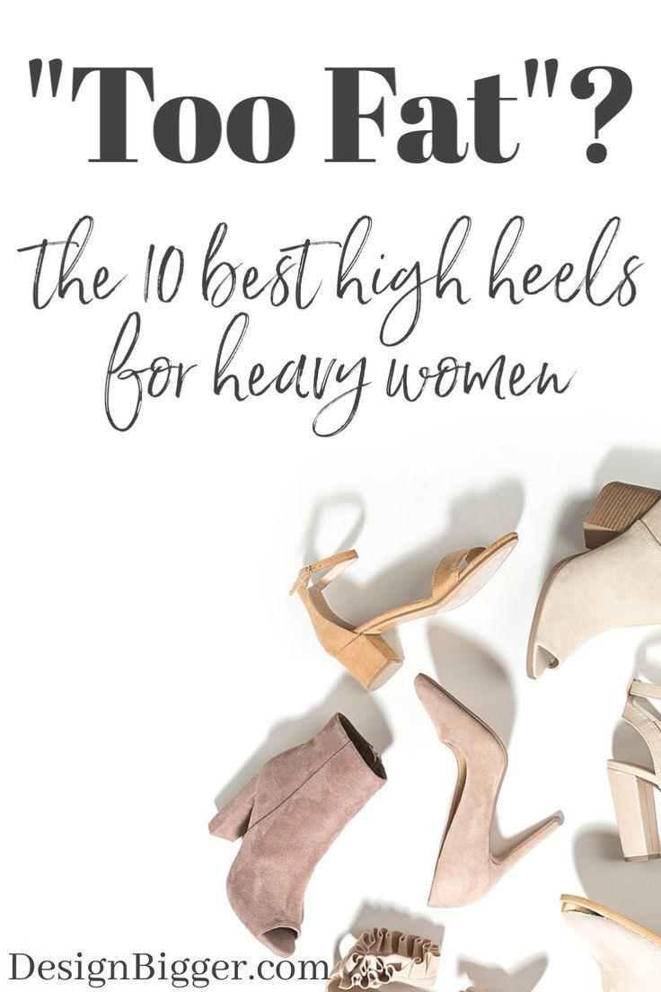 Best High Heels For Plus Size Women in