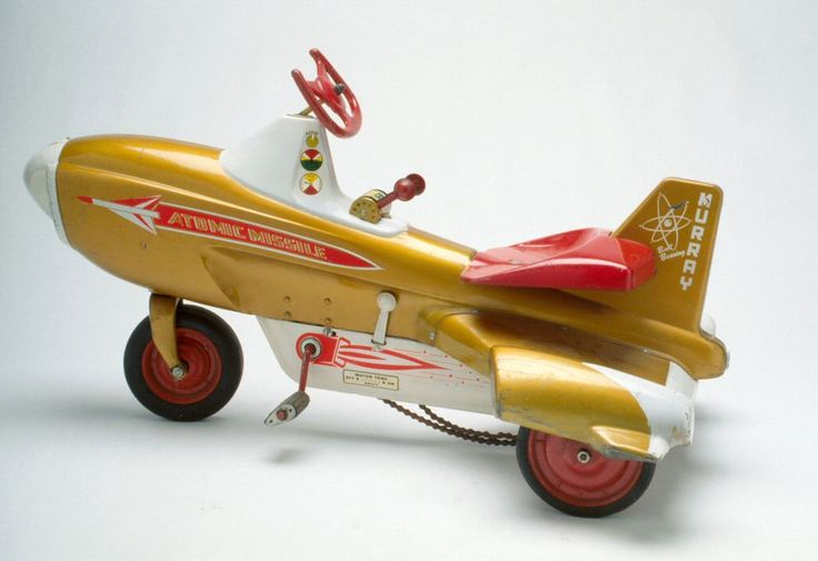 93.1163: Atomic Missile | pedal car | Outdoor Play | More | Online Collections | The Strong