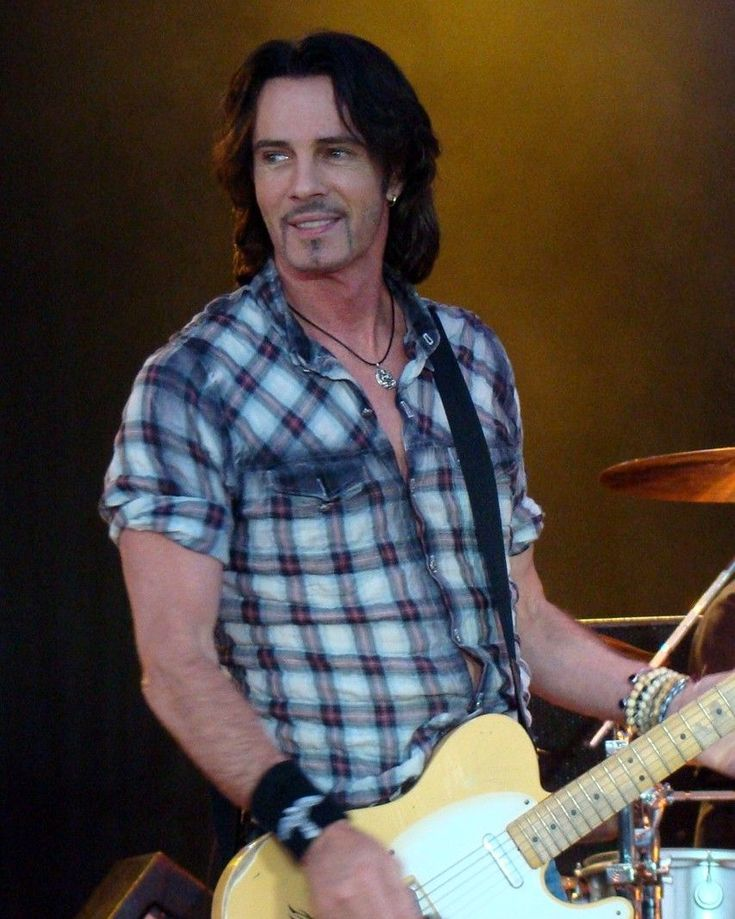 This is what Rick Springfield looked like when I finally go to see him in concert at the Fraze Pavilion many years after I adored him in high school.