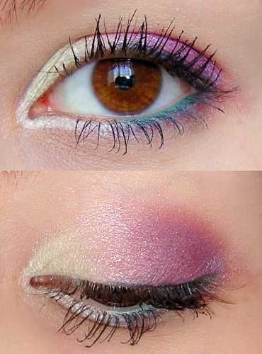 OOH pretty for this season's pale pastel eye