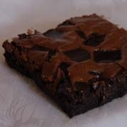 Extreme chocolate lovers can't resist our Deep Dark Double Fudge brownies!