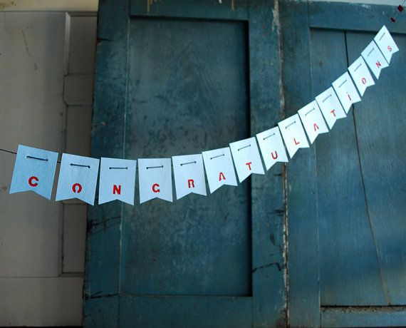 The 25 best congratulations banner ideas on pinterest for 3 foot cardboard letters
