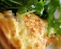 Recette de tarte au camembert allégée