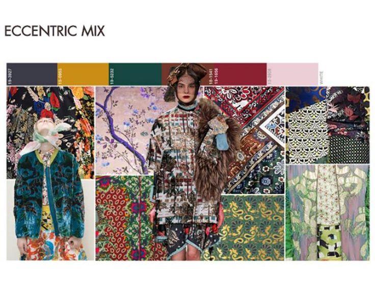 Le stampe grafiche delle collezioni fashion fall winter 2017-18 per l'America