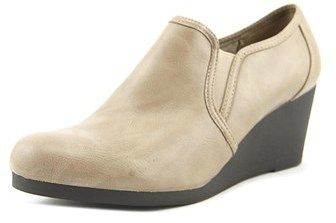 LifeStride Life Stride Never Women Open Toe Synthetic Gray Wedge Heel.