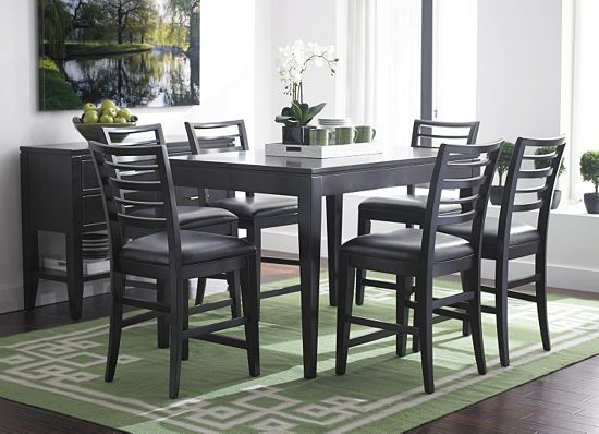 Dining Rooms Maren Counter Height Table Dining Rooms Havertys Furniture Decorating Ideas