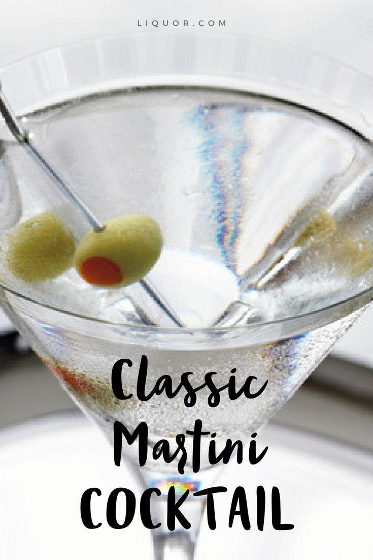 Lean how to make the #martini one of our favorite #classic #cocktails