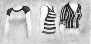 how to draw realistic clothing step 4