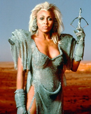 "Let's face it. Tina made this movie. You go, girl. ""We don't need another hero!"" (Mad Max 2)"