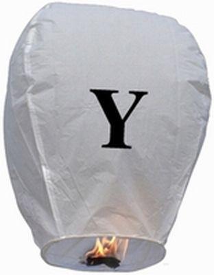 Lanterna Volante con lettera Y