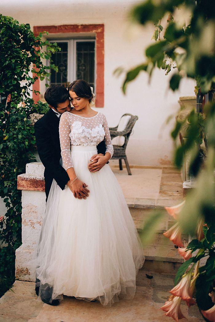 Romantic Italian wedding inspiration   Image by  Weddings by Sasa Tomic