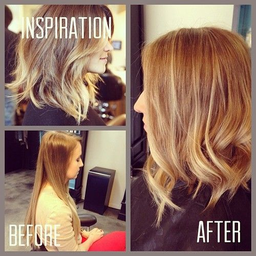love the haircut in the inspiration photo! Find me this hair dresser ...