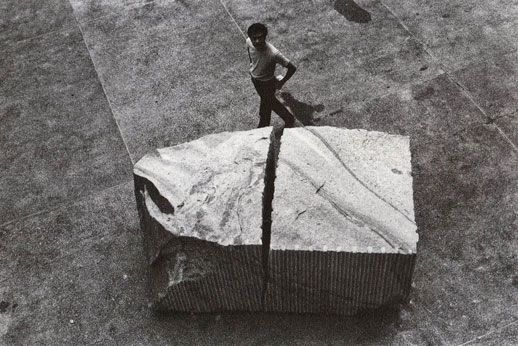 Before Andy Goldsworthy...there was Mono-ha
