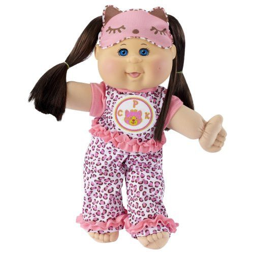 Cabbage Patch Kids Glow Party: Brunette Hair, Caucasian Girl 14 Doll