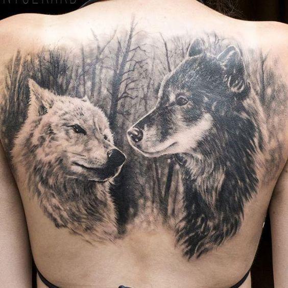 Minha loba - Capítulo 30 - Página 2 - Wattpad Wolf Tattoos, Fox Tattoo, Forearm Tattoos, Animal Tattoos, Sleeve Tattoos, Trendy Tattoos, Small Tattoos, Werewolf Tattoo, Old School Ink