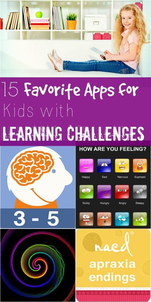 Does your child have any kind of learning disabilities or challenges ranging from speech delays, to autism or sensory issues? These 15 Favorite Apps for Kids with Learning Challenges is a resource you'll find invaluable in helping them in an engaging and fun way. SunshineandHurricanes.com.