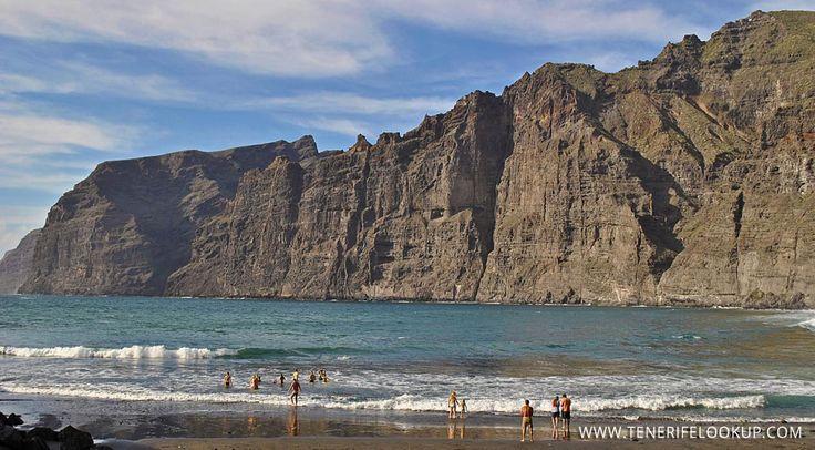 Playa #LosGigantes #Tenerife