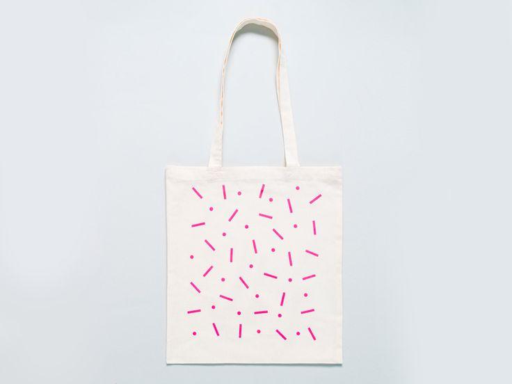 Hopscotch tote bag.