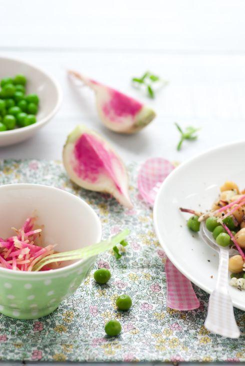 Sweet Pea & Chick Pea Salad | Sweet Pea Cottage | Pinterest