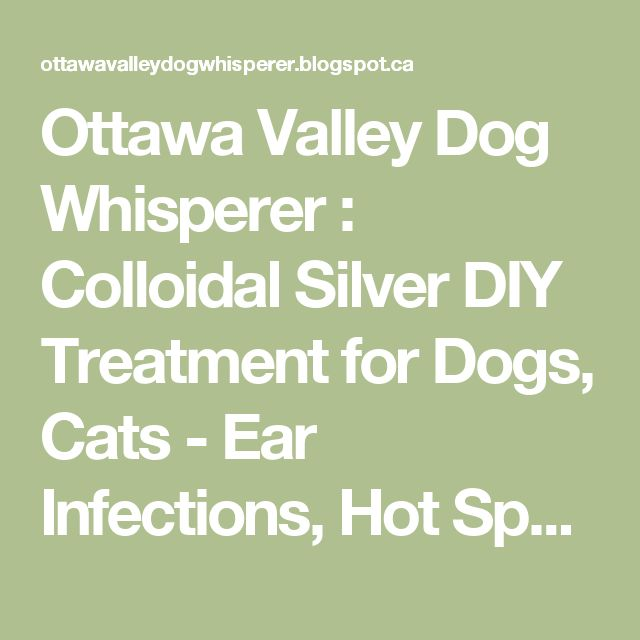 34 Best Colloidal Silver And Others Images On Pinterest