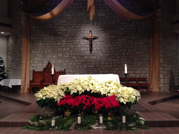 Christmas Church Altars Pictures