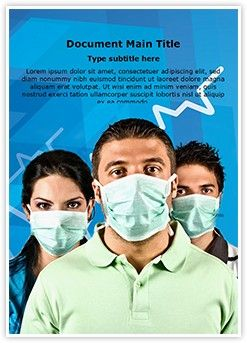 Flu MS Word Template is one of the best MS Word Templates by EditableTemplates.com. #EditableTemplates #Virus #Epidemic #Females #Wear #Pandemic #Alert #Mask #Human #Protective #Person #Woman #Group #Wearing #Swine #Faces #Healthy #Team #People #Sickness #Contagious #Together #Risk #Care #Safe #Healthcare #Rna Viruses #Serious #Guys #Men #H1N1 #Bacterium #Safety #Young