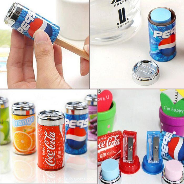 Ucuz Yaratıcı kola kutular kok sharpeners ile çizim yazma kalemtıraş silgi yenilik, Satın Kalite Kalemtraşlar doğrudan Çin Tedarikçilerden: özellikleri:100% yepyeni yüksek kaliteli. Bir kaymakam çocuklar için hediye!Bir kutuları iki kullanımı, bir kalemt