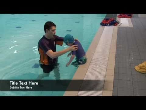 uSwim, level 1, skill 5 - Turning and resurfacing how to teach your baby to swim, swimming lessons