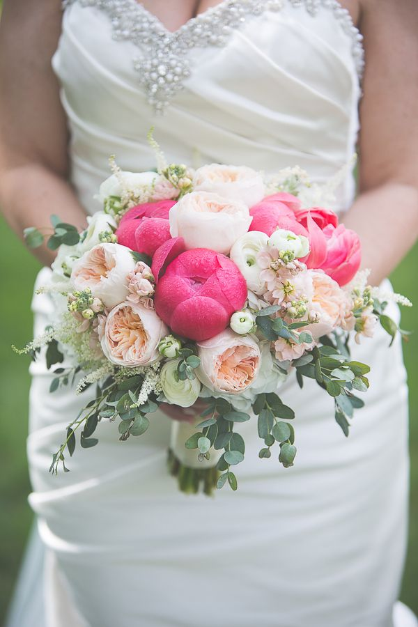 Peony Bouquet|Lakeside Spring Wedding at Innsbrook Resort|Photographer:  k.s.h. designs photography