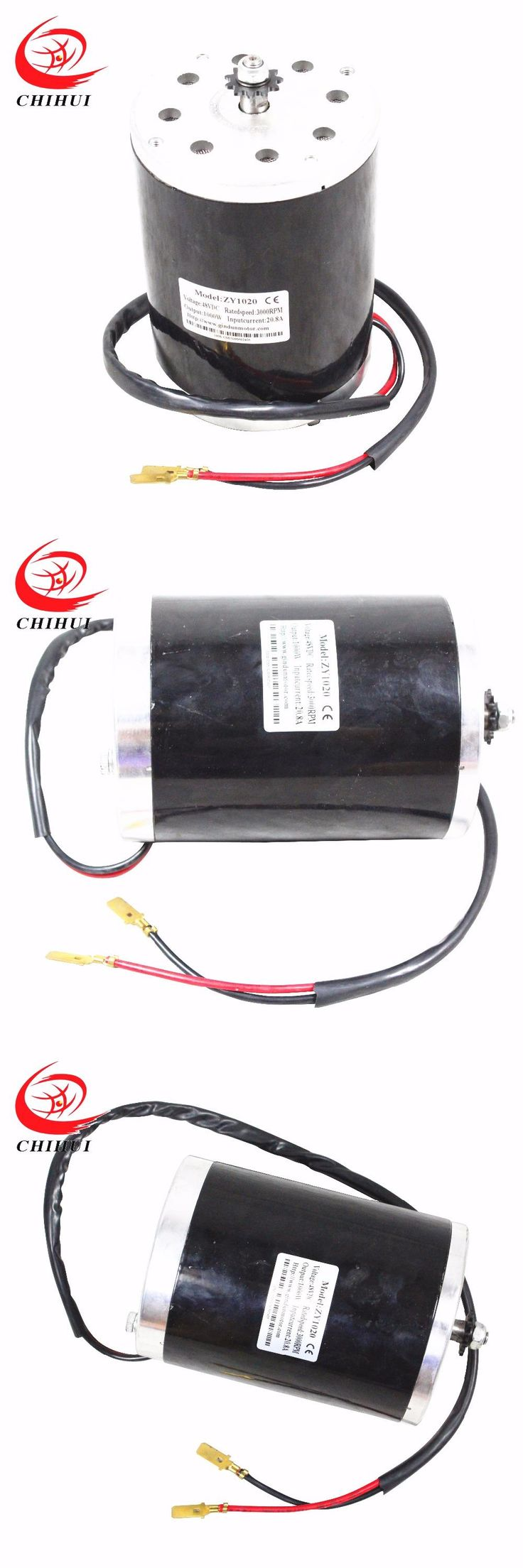 [Visit to Buy] Electric Scooter Motors 1000W 48V Brushed Electric DC Motor(Scooter Parts & Accessories  ) #Advertisement