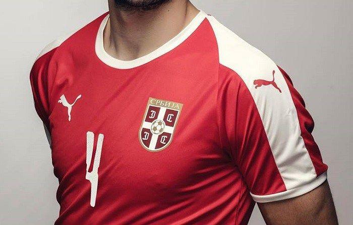 4d69c1ade6f3 Serbia 2018 World Cup PUMA Home Kit