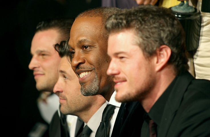 Justin Chambers, Patrick Dempsey, James Pickens Jr. and Eric Dane