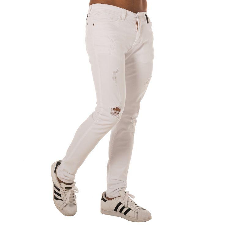 Hay 3 formas perfectas para combinar con blanco: con una camisa denim, con un blazer oscuro o con camisa de manga corta de color llamativo ¡y ya tienes la pinta! 👌👌 Visita www.edenjeans.com.co👈 #EdenLaRompe #ProductoColombiano #ModaMasculina #EdénJeans  #jeans #jeanblanco #ropa