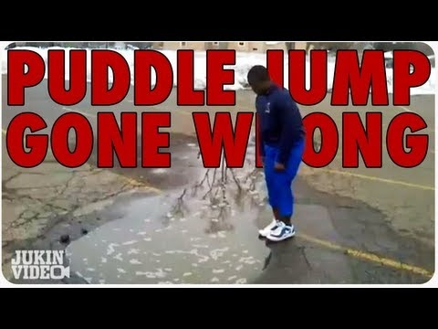 Puddle Jump Gone Wrong. Short, funny video.