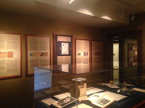 Inside Banting House Museum in London, Ontario.