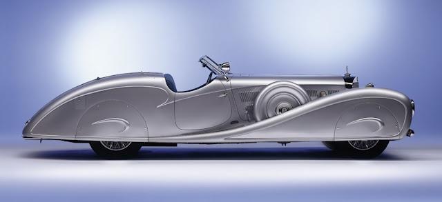 1934 Mercedes-Benz 500K Streamline Roadsterm, built for a King of Iraq, Erdmann & Rossi coachbuilders