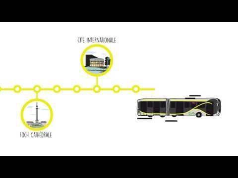 Nantes Métropole: une nouvelle ambition pour les transports publics - YouTube