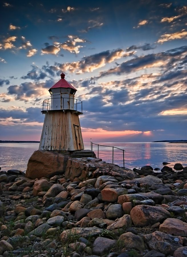 The Lighthouse by Ann Thomstad