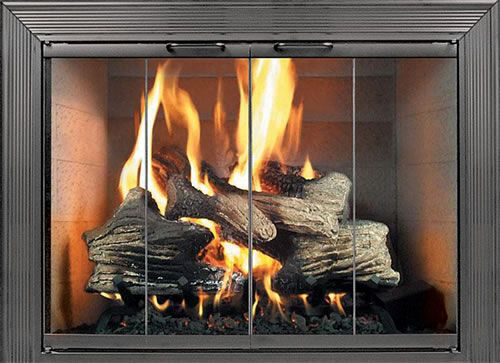 Home Fireplace Glass Doors Decor Series Thermo Rite Decor Stock Masonry Door 30 X 26 3026 Glass Fireplace Fireplace Glass Doors Fireplace Doors