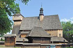 Drewniany kościół w Haczowie - Światowe Dziedzictwo UNESCO