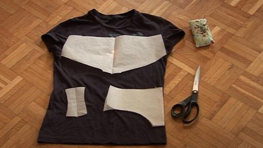 Vanhat t-paidat alushousuiksi! Näitä ohjeita olen kaivannut. Mistä saumuri?!