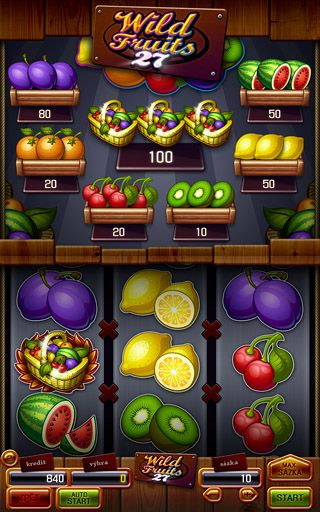 Apollo Games | Wild Fruits